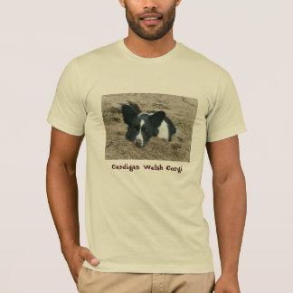 T-shirt Corgi T-Shrit de Gallois de cardigan