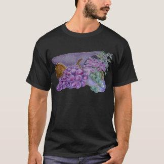 T-shirt Corne d'abondance avec le fruit et les fleurs -