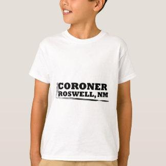 T-shirt Coroner de Roswell