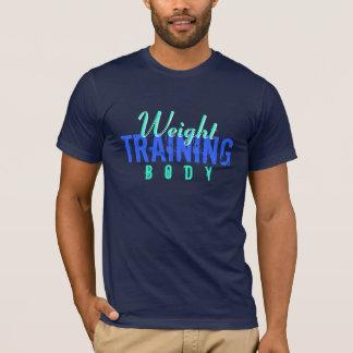 T-shirt Corps de formation de poids