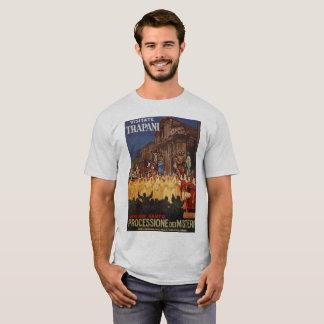T-shirt Cortège chrétien Trapani de Pâques de voyage