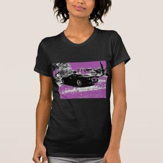 T-shirt Corvette avec le pourpre