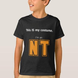 T-shirt Costume de NT Halloween pour Aspies