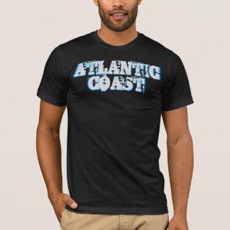 T-shirt Côte atlantique fraîche de la vie heureuse de Côte