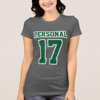 T-shirt Coton VERT GRIS avant de favori de Bella de femmes