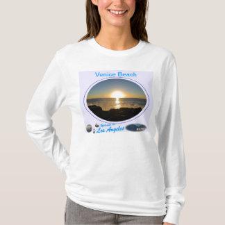 T-shirt Coucher du soleil 2 de plage de Venise