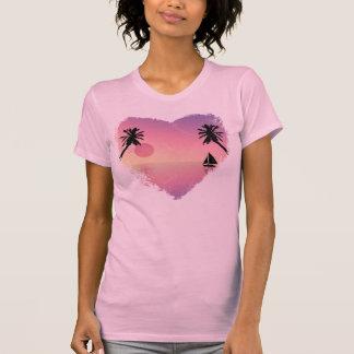 T-shirt Coucher du soleil de Golfe