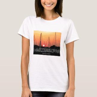 T-shirt Coucher du soleil de Kemah le Texas