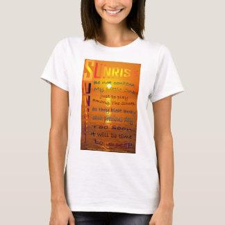 """T-shirt """"Coucher du soleil de lever de soleil """""""