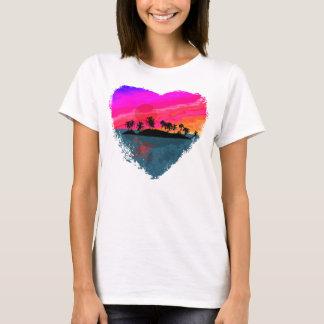 T-shirt Coucher du soleil de Tiki