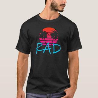 T-shirt Coucher du soleil et palmiers de rad