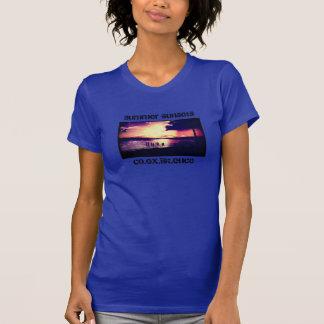 T-shirt Couchers du soleil d'été