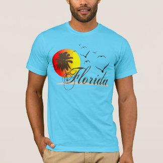 T-shirt Couchers du soleil ensoleillés de la Floride