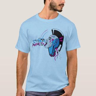 T-shirt Couleur de Punkd de Cyber avec le type
