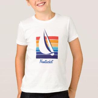 T-shirt Couleur Square_Nantucket de bateau