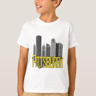 T-shirt Couleurs de ville de Pittsburgh
