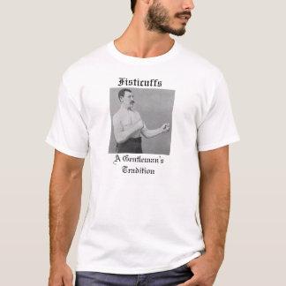 T-shirt Coups de poing, la tradition d'un monsieur