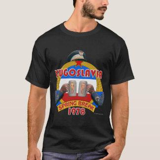 T-shirt Coupure de ressort de la Yougoslavie 1978