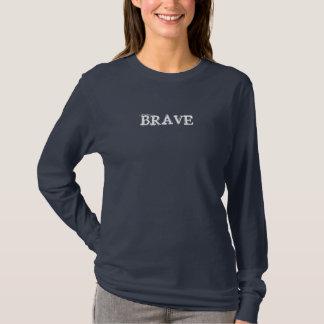 T-shirt courageux