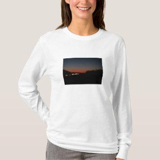 T-shirt Courant de coucher du soleil