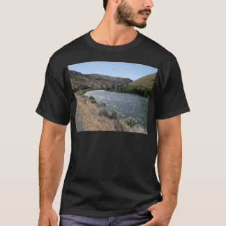 T-shirt Courbure en rivière