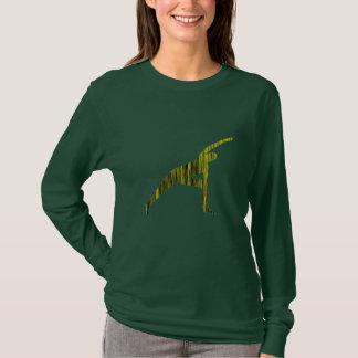 T-shirt Courbure latérale - chemise de yoga (longue