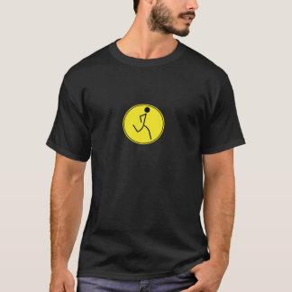 T-shirt Coureur (jaune)