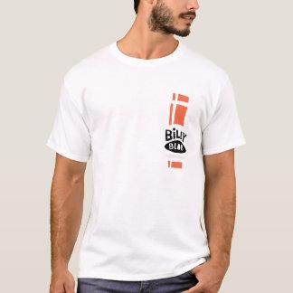 T-shirt Coureur T de vélomoteur de goutte de Billy