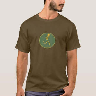 T-shirt Coureur (vert/orange)