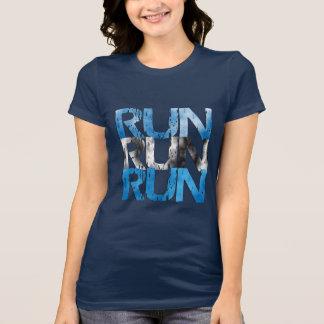 T-shirt Courez la course courue - coureur