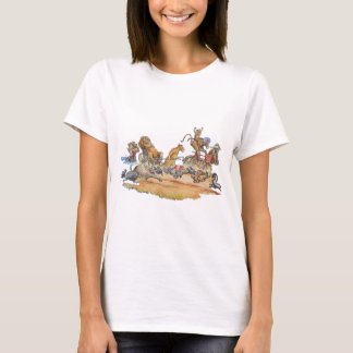 T-shirt Course animale africaine