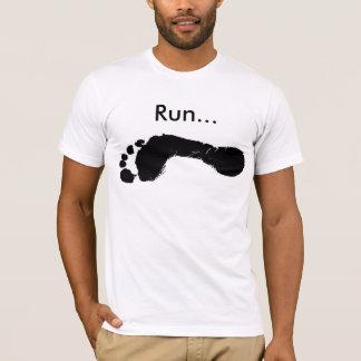 T-shirt Course nu-pieds