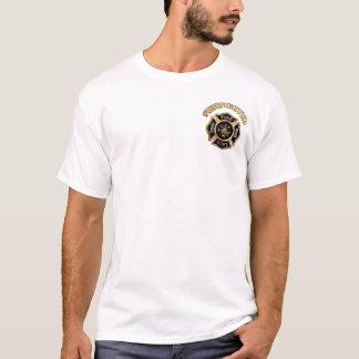 T-shirt Coutume d'insigne d'or de corps de