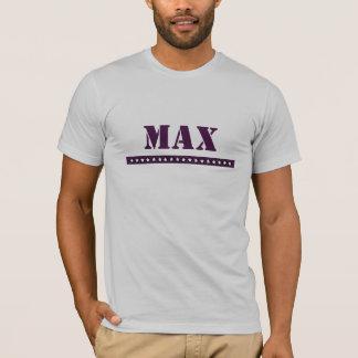 T-shirt Coutume maximum