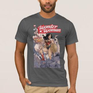 T-shirt Couverture comique #13 de femme de merveille