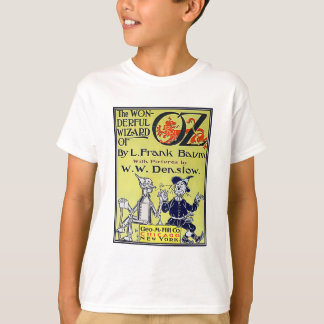 T-shirt Couverture de livre vintage de magicien d'Oz