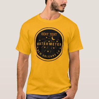 T-shirt Couverture de mètre d'eau de la Nouvelle-Orléans,
