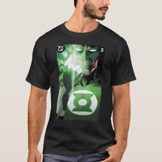 T-shirt Couverture haute de fin verte de lanterne