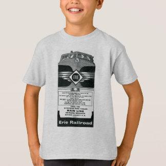 T-shirt Couverture suburbaine 1958 d'horaires de chemin de