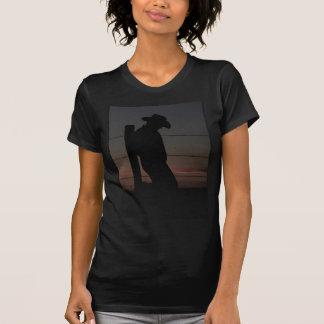 T-shirt Cowboy au coucher du soleil