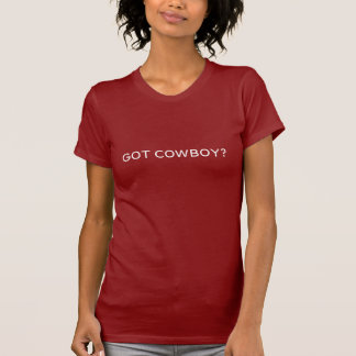 T-SHIRT COWBOY OBTENU