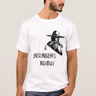 T-shirt Cowboy T blanc d'AGH