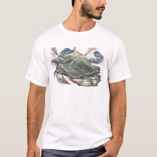 T-shirt Crabe bleu