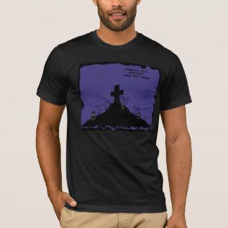 T-shirt Crainte de Virginia City, Montana le cimetière de