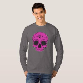 T-shirt Crâne artistique (rose)