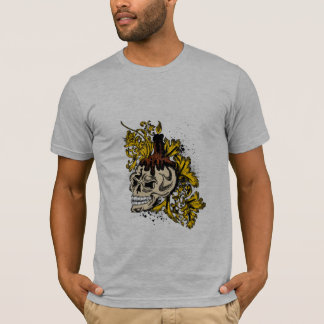 T-shirt crâne - candélabre