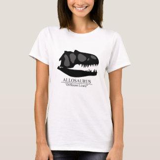 T-shirt Crâne d'Allosaurus