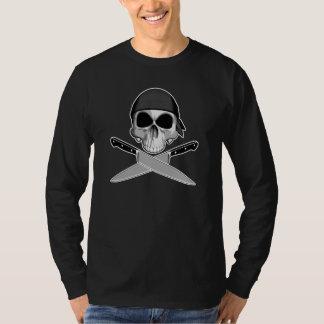 T-shirt Crâne de chef avec le Bandana