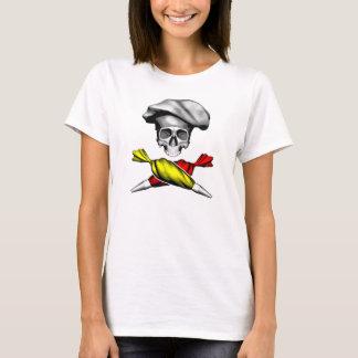 T-shirt Crâne de chef de pâtisserie