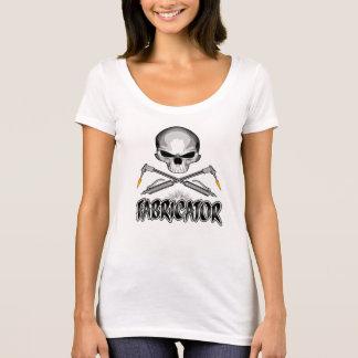 T-shirt Crâne de constructeur : Torches croisées